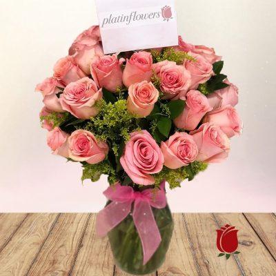bouquet flores rosadas